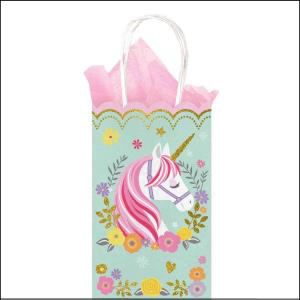 Magical Unicorn Paper Treat Bags 10Pk