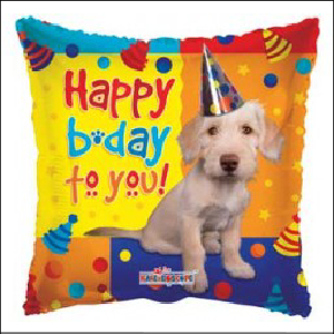 HB To You Dog 45cm Foil Balloon