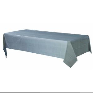 Silver Rectangle Tablecover