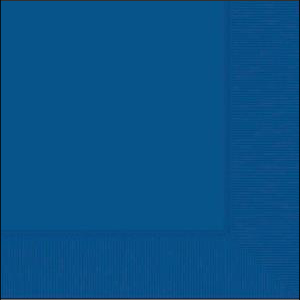 Royal Blue Beverage Napkin pk20