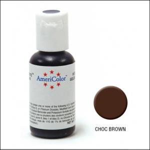 Americolor Gel Paste Chocolate Brown 21g