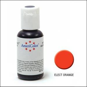 Americolor Gel Paste Electric Orange 21g