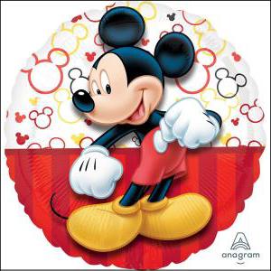 Mickey Portrait 43cm Foil Balloon