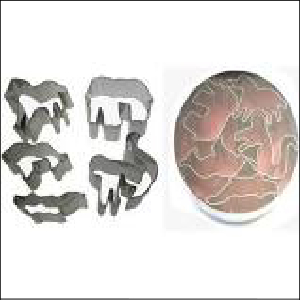Wild Animals Mini Cookie Cutter Set 5pc