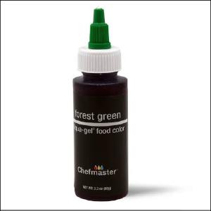 Chefmaster Liqua Gel Forest Green 65g