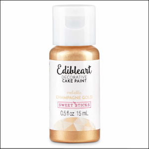 Edibleart Paint Champagne Gold 15ml