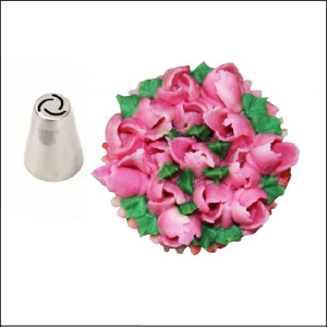BG Specialty Piping Tip Rose Bud