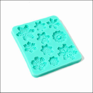 Silicone Mould Snowflakes