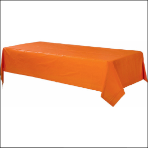Tablecover Orange Rectangle 137cm x 274c