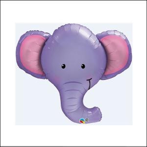 Super Foil Animal Head Elephant 99cm