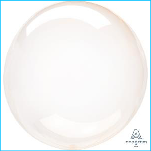 Crystal Clearz Petite Orange Balloon