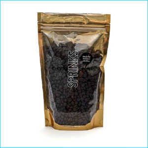 Sprinks Choco Drops Almost Black 500g