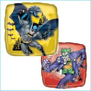 Batman & Joker Foil 43cm Two Sided