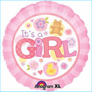 It's a Girl Pink 45cm