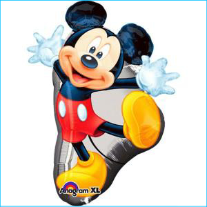 Mickey Mouse Full Body Supershape