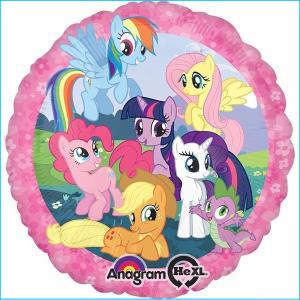 My Little Pony Group Foil Balloon 45cm
