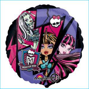 Monster High Group Foil Balloon 43cm