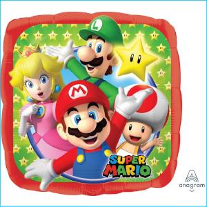 Foil 43cm Super Mario Brothers