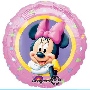 Minnie Mouse Character Foil Balloon 45cm