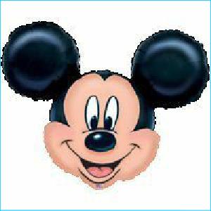 Mickey Mouse Head Supershape