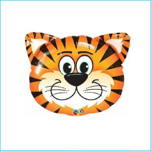 Super Foil Animal Head Tiger 76cm