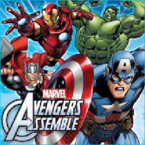 Avengers Party Napkins Pk 16