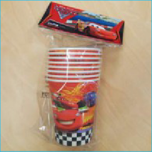 Disney Cars 2 Party Cups Pk 8