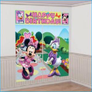 Scene Setter Kit Minnie Mouse Birthday