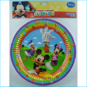 Mickey Mouse Clubhouse Plates Pk 8