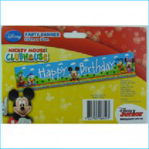 Mickey Mouse Clubhouse Banner Pk 8