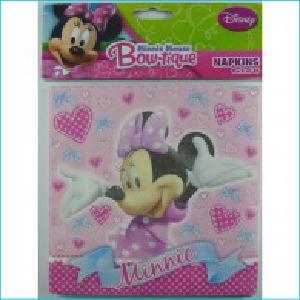 Minnie Mouse Bow-tique Napkins Pk 16