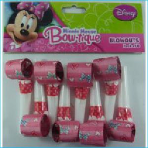 Minnie Mouse Bow-tique Blowouts Pk 8