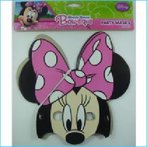 Minnie Mouse Bow-tique Masks Pk 8