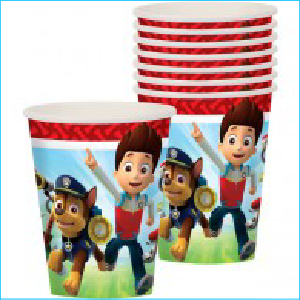 Paw Patrol Party Cups Pk 8