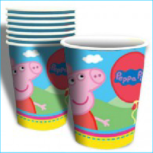 Peppa Pig Party Cups Pk 8