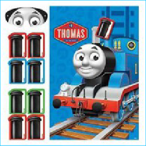 Thomas The Tank Engine Pin the Game