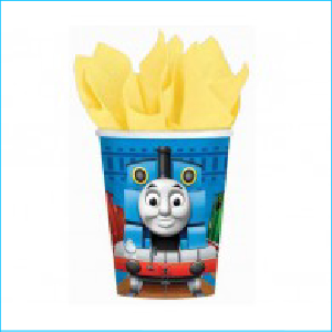 Thomas and Friends Party Cups Pk 8