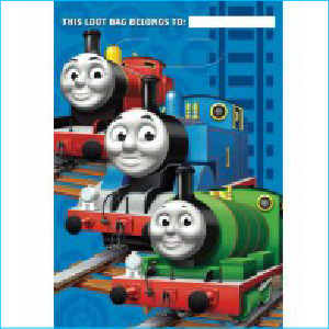 Thomas and Friends Lootbags Pk 8
