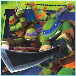 Teenage Mutant Ninja Turtles Party Napki