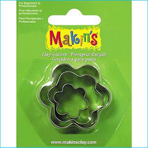 Makins Flower Cutters Pk 3