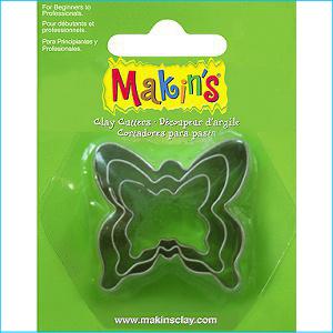 Makins Butterfly Cutters Pk 3
