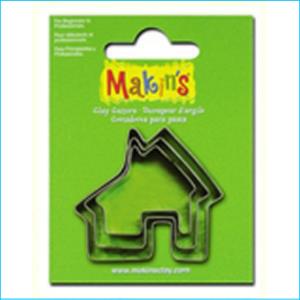Makins House Cutters Pk 3