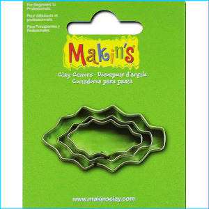 Makins Holly Leaf Cutters Pk 3