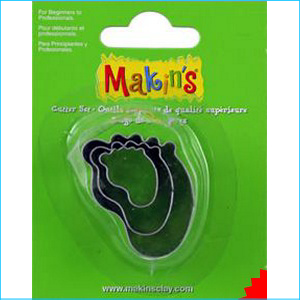 Makins Baby Foot Cutters Pk 3