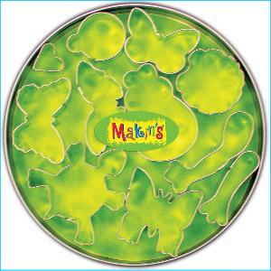 Makins Bugs Cutter Set 11 Piece Tin
