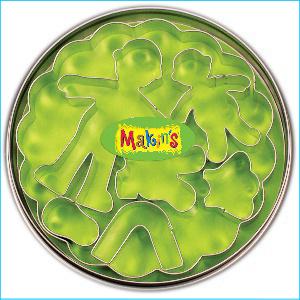 Makins Children Cutter Set 7 Piece Tin