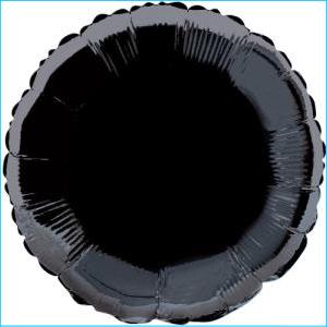 Foil 45cm Standard Round Black