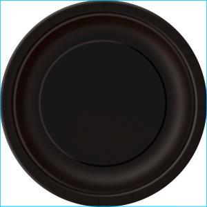 Black Paper Dinner Plates Pk 8