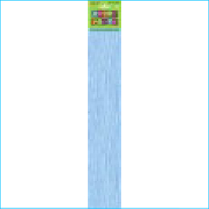 Crepe Paper Baby Blue 1.83m