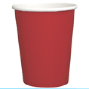 Red Paper Party Cups Pk 8